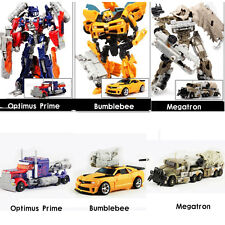Transformers Car Action Figures Optimus Prime Bumblebee Megatron Kid Toy Gifts
