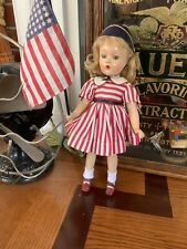 "Vintage MADAME ALEXANDER MISS AMERICA COMPOSITION DOLL;14"",Wendy-Ann Face"