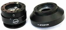 NRG Steering Wheel Short Hub Adapter Quick Release BK For BMW E30 (FITS:BMW)
