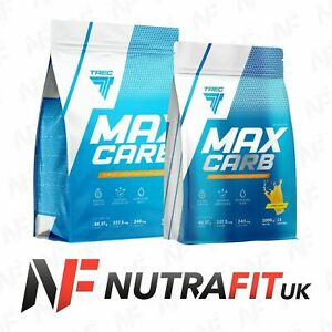 TREC NUTRITION MAX CARB carbohydrate energy electrolytes recovery powder drink