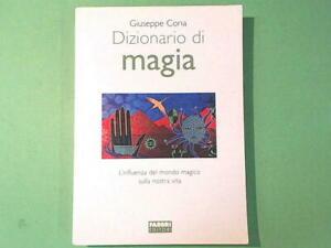 DIZIONARIO DI MAGIA CORIA FABBRI EDITORI