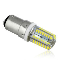 B15 LED Lights Corn Bulbs 3014 SMD Bright Silicone Lamps Cool White 220V 6W 1x