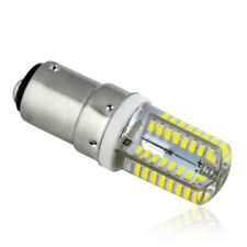 1x B15 Cool White 64 LED Crystal Corn Bulbs 3014 SMD Silicone Lamp AC 220V 6W C