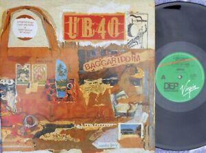 UB40 ORIG OZ LP + 12 Baggariddim NM '85 Virgin LP DEP10 Pop Rock Reggae