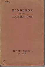 Handbook of Collections, City Art Museum, St. Louis