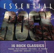 ESSENTIAL ROCK - 16 ROCK CLASSICS / VAR ARTISTS-wasp,deep purple,poison,saxon