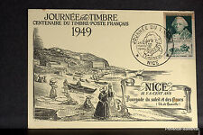 CHOISEUL SURINTENDANT 1949 FRANCE Carte maximum premier jour 1° timbre Yt828C