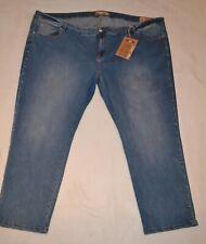 Janina Damen Jeans Skinny Normal rise im 5-Pocket Styl Größe 56 oder 58 Blau NEU