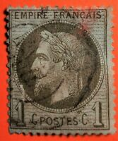 MARCOPHILES ! EMPIRE LAURE  N° 25 (TB 1187-1) OBLIT.CaD 25+25€ DEF