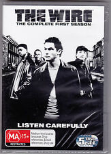 The Wire - The Complete First Season - DVD Region 4 Brand New Sealed