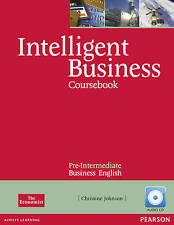 Intelligent Business Pre-Intermediate Coursebook/CD Pack, Christine Johnson