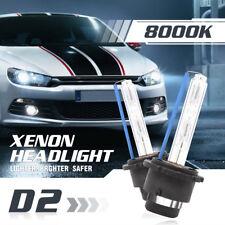 OEM D2S D2C D2R 55W 8000K Blue HID Xenon Headlight Bulbs Replacement   Fog Light