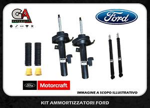 Ammortizzatori Ford Focus II C-Max 4 pezzi Originali Motorcraft + tamponi ant.