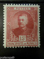MONACO 1923/24, timbre 66, PRINCE LOUIS II, neuf**, MNH STAMP, CELEBRITY