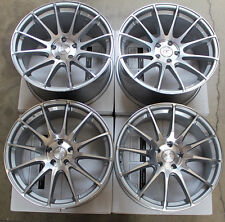 """19"""" GROUND FORCE GF6 CONCAVE STAGGERED WHEELS RIMS SET FOR BMW E60 M5"""