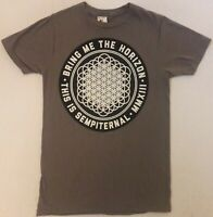 BRING ME THE HORIZON This Is Sempiternal MMXIII Size Small Gray T-Shirt