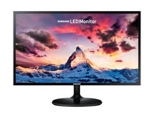 """Samsung S24F350F 23.5"""" Monitor, 1920x1080 16:9 4ms 60Hz, Black - LS24F350FHUXEN"""