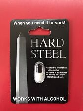HARD STEEL MALE SEXUAL ENHANCEMENT PILL, 3 PILLS LOT. FREE SHIPPING!!
