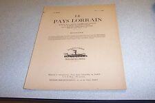 LE PAYS LORRAIN 1959 VOL 40 N° 3  Les campagnes militaires du prince Charles-Ale