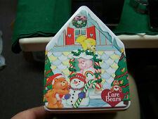 Care Bears Tin of Three Care Bear Ornaments  MIB   Carlton Cards   L@@K   NR!