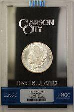 1878-CC GSA Hoard Morgan Silver Dollar $1 Coin NGC MS-62 Semi PL (B)
