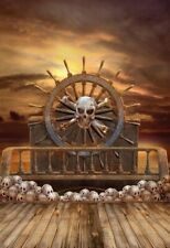 Pirate Ship Is Thrilling Backdrop Event Portrait Photography Background 5x7Ft