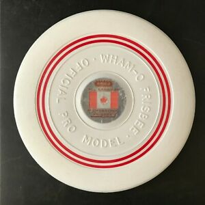 Vintage Frisbee - Wham-O - Official Pro Model All Canadian