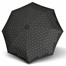 Knirps X1 Regenschirm Accessoire Lotus Black Schwarz Weiß Neu