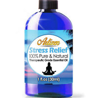 Artizen Stress Relief Essential Oil Blend (100% PURE & NATURAL - UNDILUTED) 1oz