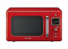 Daewoo 800W Standard Auto Cook Microwave 20L Capacity 5 Power Levels Timer Red