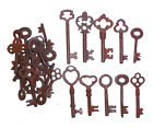 Antique Iron Skeleton Keys  Lot of 50 Steampunk