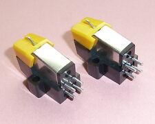 Cartucho de dos Moving Magnet de calidad y cartuchos de tocadiscos stylus M22 Par De