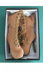 Cape Robbin Women's Timberland Tan Suede Over Knee Lace Size 6 Style POLLY-YH-2