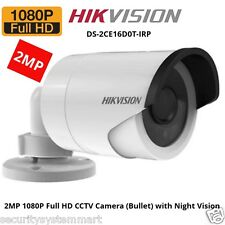 HIKVISION DS-2CE16D0T-IRP (2MP)Turbo HD1080P Bullet CCTV Security Camera
