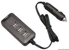 4 Way USB Charger 12V Car Lighter Socket Connection Power