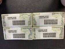 One Dollar Bills $1 US Money BEP Bundle 2017 Cleveland New Notes Consecutive#'s