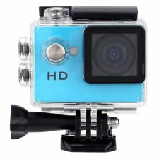 "2.0"" HD 720P Sports Action Camera Waterproof Car DV Video Camera SJ4000 blu H5G5"