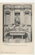 Firenze Capeele Medicee Monumento Giuliano de Medici Italy U/B Postcard US024