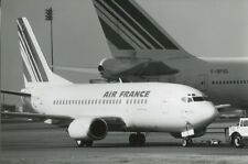 AIR FRANCE BOEING 737 WITH 747 TAIL LARGE PHOTO