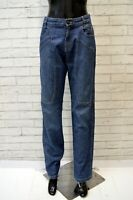 JECKERSON Jeans Vita Alta Donna Taglia 30 44 Pants Women Pantalone Blu Denim