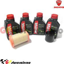 KIT TAGLIANDO 5100 10W40 FILTRO OLIO ARIA DUCATI 796 MONSTER ABS 2010