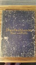 GERMANY'S ARMY AND NAVY BY PEN & PICTURE by Gustav A. Sigel / 1900 Eng/Germ Txt