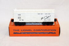 Postwar Lionel 6014-335 White Frisco Boxcar~w/Scarce Factory Renumbered OB