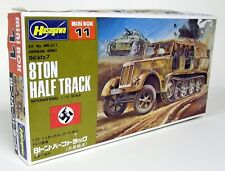 Hasegawa 1/72 Scale 11 German Sd kfz.7 8 Ton Half Track Plastic Military Kit
