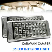 Pair 12V LED Interior Ceiling Cabin Spot Light For Caravan Camper Boat Dome Lamp