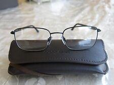 Giorgio Armani Black Armação Para Óculos Retangular Tamanho 53-17-140 feito  na I.. 37cabe1b04