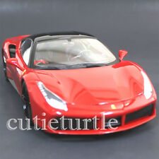 Bburago Signature Series Ferrari 488 GTB 1:18 Diecast Model Car 18-16905 Red