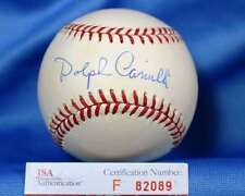 Dolph Camilli Dodgers Jsa Coa Hand Signed National League Autograph Baseball