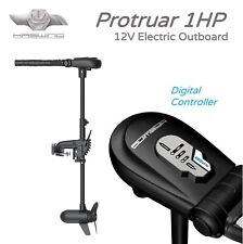 Protruar 1HP Electric Outboard 12V Digimax Controller, HASWING Trolling Motors