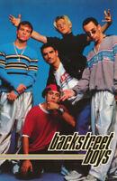 POSTER : MUSIC:  BACKSTREET BOYS - ALL 5 POSED - FREE SHIPPING     #7500  RC15 E